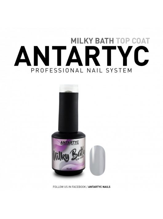 Milky Bath Top Coat  Weiss  15ml